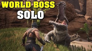 Conan Exiles - World Boss Solo Guide New 7.23.18