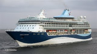 MARELLA DISCOVERY | very first maiden call of MARELLA CRUISES in Bremerhaven | 4K-Quality-Video