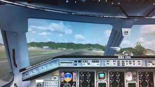 ERJ Landing 2 FSX