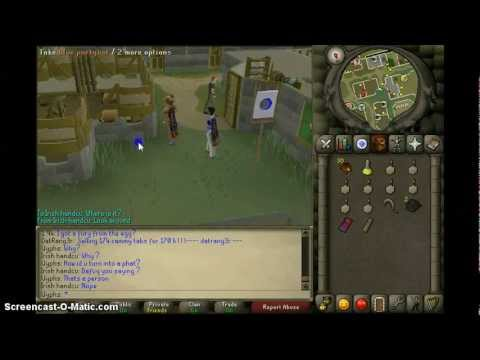 Blue Party Hat! (Runescape 2007)