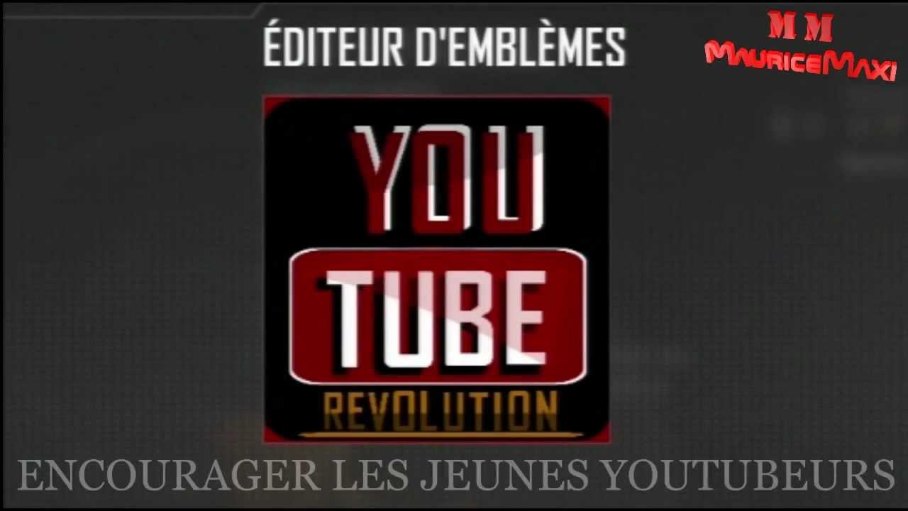 Embleme Youtube Bo2 Pour Entre
