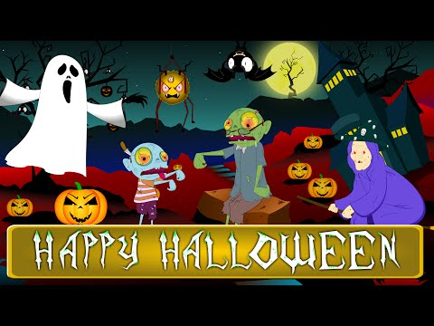The Farmer in the Dell   Halloween Kids Songs   Nursery Rhymes for Children