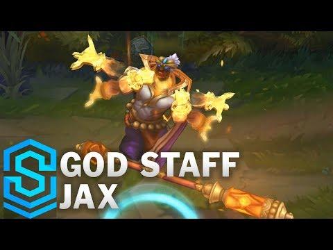 God Staff Jax Skin Spotlight - Pre-Release - League of Legends