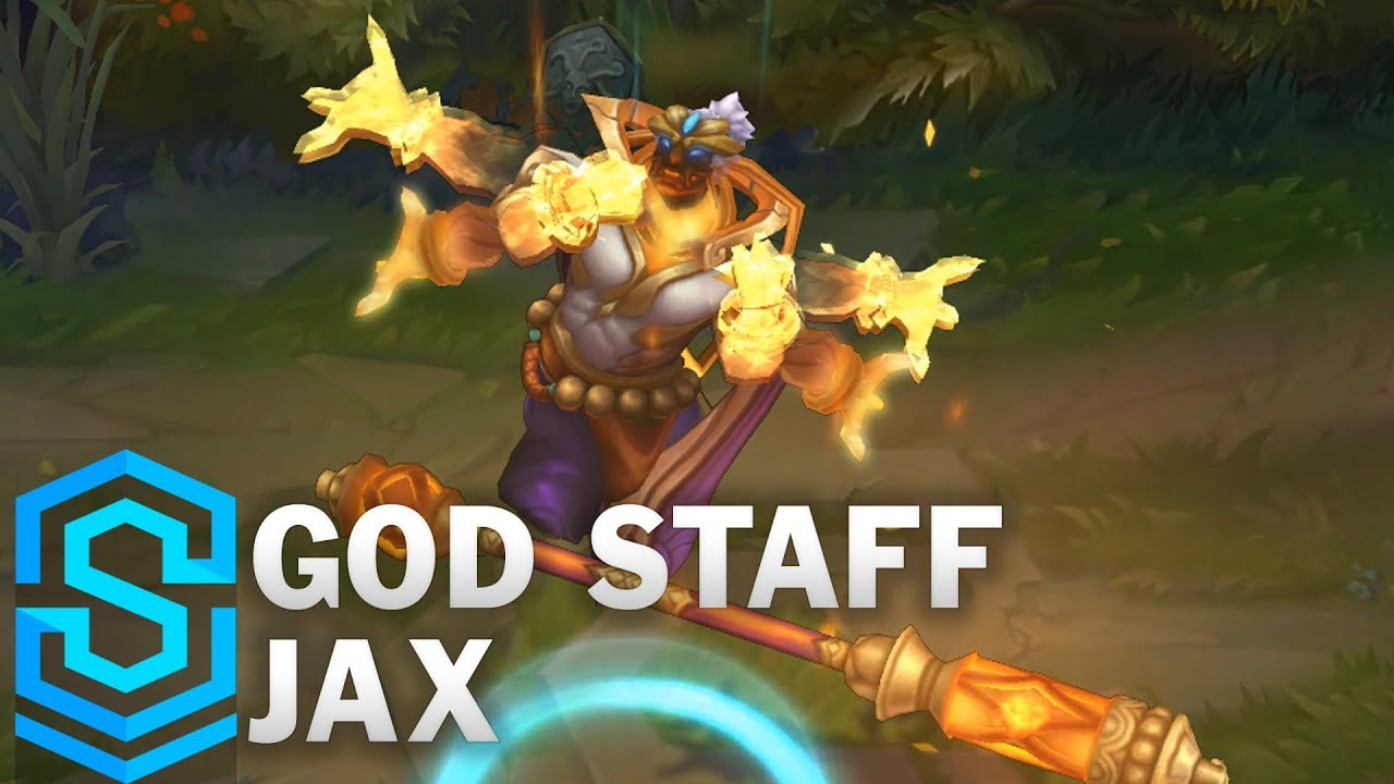 God Staff Jax Skin Spotlight - Pre-Release - League of Legends