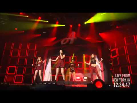 131103 Miss A - Intro & Good-bye Baby & Bad Girl Good Girl @ Youtube Music Awards 2013 [720P]