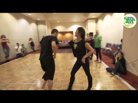 Pé Descalço - Boston Brazilian Dance Festival 2015 - Forro Demo