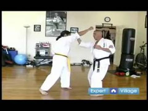 Beginner Kyokushin Karate Techniques : How to Do a Knife Hand Strike in Kyokushin Karate Image 1
