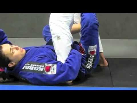 Footlock From X Guard Sweep with Michelle Nicolini Image 1