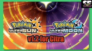 How to Update and Play Pokemon Ultra Sun - Ultra Moon v1.2 for Citra - Pokemoner.com