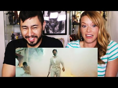 RAEES - Shah Rukh Khan - teaser reaction Jaby & Ginger! thumbnail