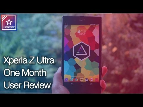 Sony Xperia Z Ultra    One Month User Review