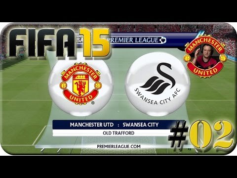 Fifa 15 - Manchester United VS Swansea City (Lets Play #02)