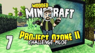 Minecraft Project Ozone 2  The GIANT CHANCE CUBE challenge!  6