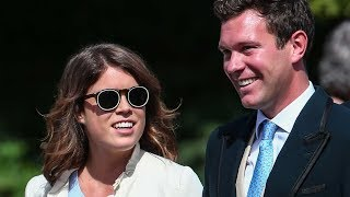Princess Eugenie looks effortlessly stylish as she holds hands with Jack Brooksbank in Mayfair