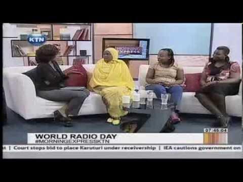 Interview on World Radio Day with Radio Maisha presenters