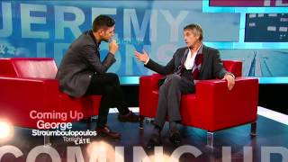 Jeremy Irons on George Stroumboulopoulos Tonight: EXTENDED INTERVIEW