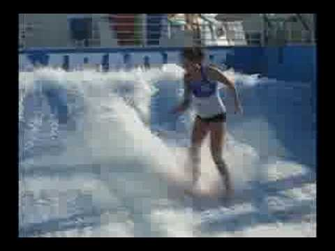 Nash Travels - Flowrider on Royal Caribbean Cruise