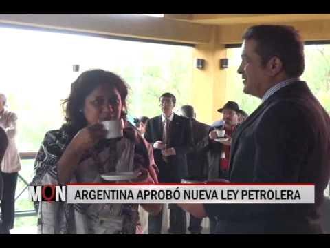 28/11/2014 18:40 ARGENTINA APROBÓ NUEVA LEY PETROLERA