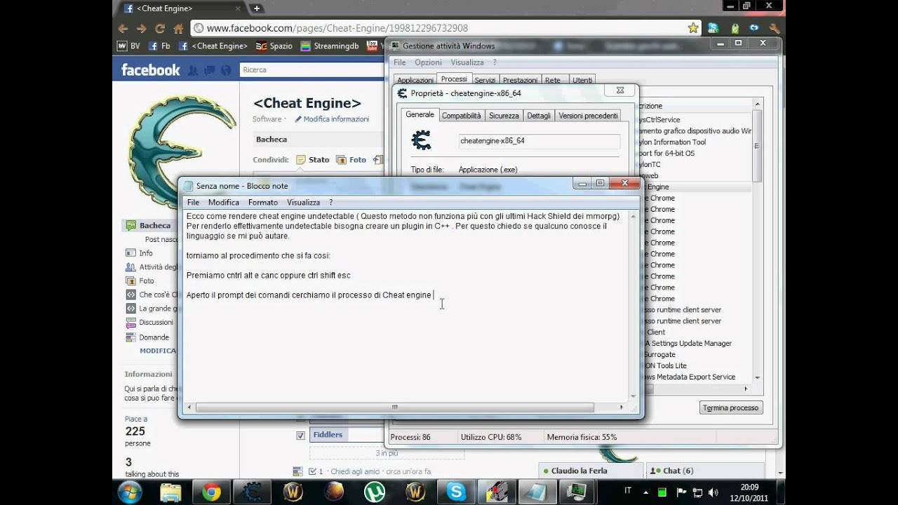 how to get undetected cheat engine