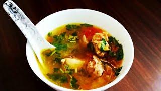 immune boosting soup recipe | mutton bone soup | healthy soup recipe |easy soup recipe