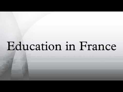 Education in France