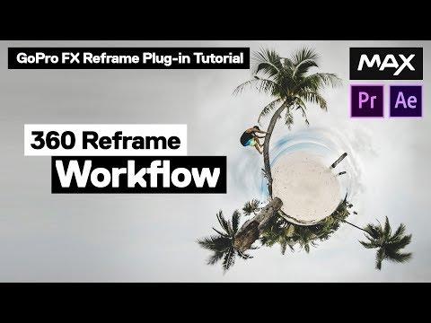 REFRAME 360 Video - FX Reframe Tutorial [GoPro MAX + Adobe Premiere]