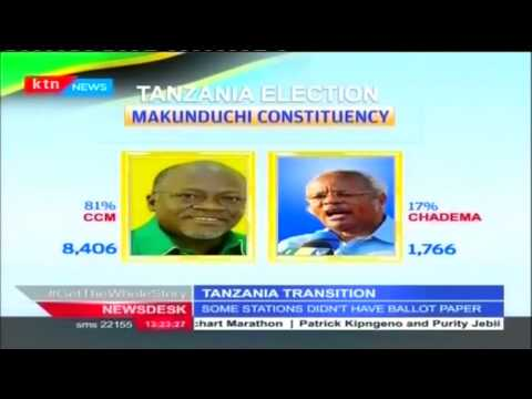 Tanzania election Result for Election from various constituencies