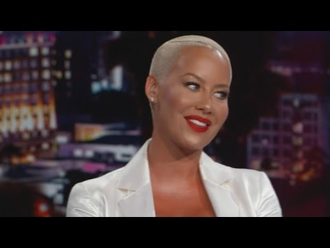 Amber Rose Talks Sex, Small Penises and Taylor Swift During TV Hosting Debut