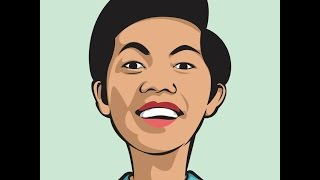 HOW TO DRAW SIMPLE CARICATURE (BAYU SKAK)