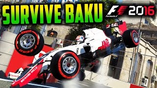 SURVIVE BAKU - F1 2016 Game (Keyboard & No Map Challenge)