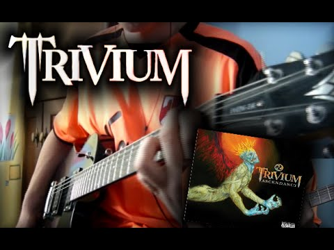 Trivium - Like Light To The Flies dual guitar cover (HQ)