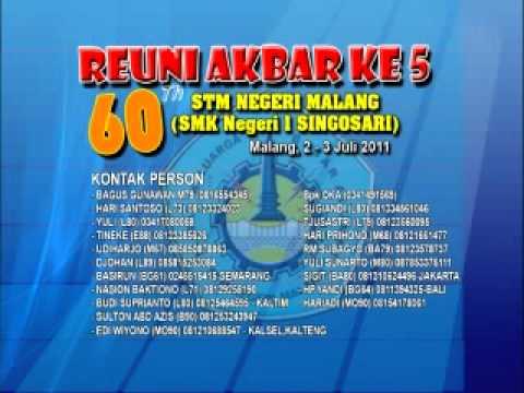 Reuni Akbar STMN Malang ALUMNI 1953 s/d 2010