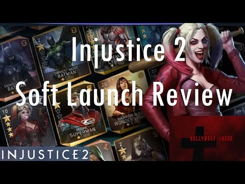 Injustice 2 Mobile - Injustice 2 Soft Launch Review