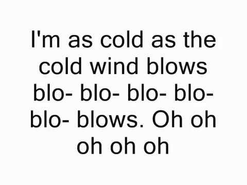 Cold Wind Blows Lyrics-Eminem