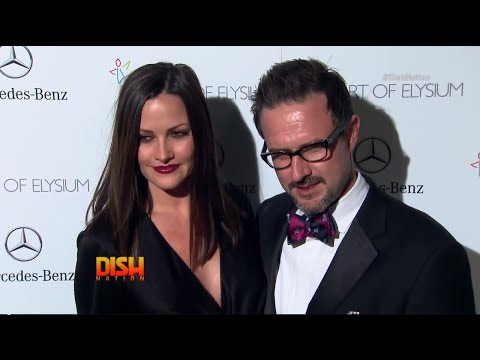 David Arquette 'On The Rocks' With Fiancée