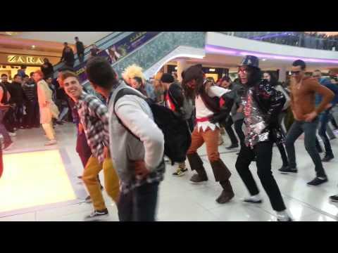 Flashmob Fanta à Morocco Mall inédit (Gangnam Style)