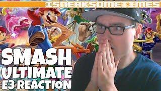 Super Smash Bros Ultimate Nintendo E3 Trailer Reaction (NEW ARRIVALS AND RELEASE DATE)