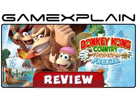 Donkey Kong Country: Tropical Freeze - Video Review (Wii U)