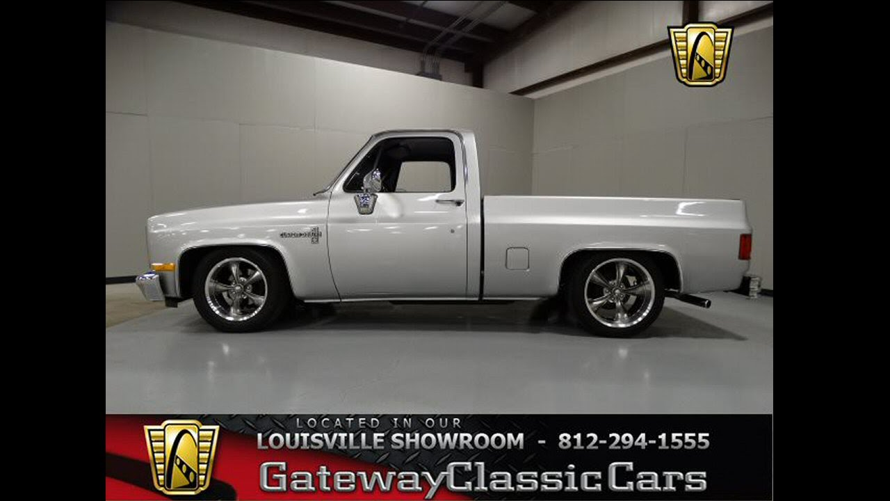 1984 Chevrolet C10 Stock # 813 located in our Louisville ...