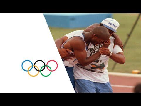 Derek Redmond's Emotional Olympic Story - Injury Mid-Race   Barcelona 1992 Olympics