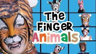 Finger Family Animals Song | Nursery Rhymes |  Finger Family Song