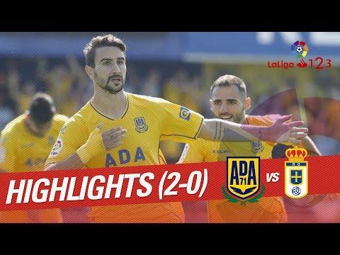 Resumen de AD Alcorcón vs Real Oviedo (2-0)