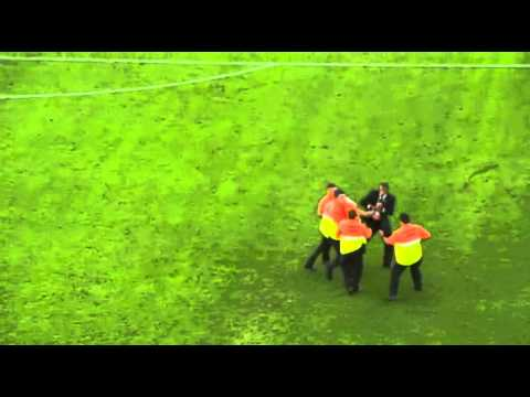 World Cup Streaker Running Across Field - July 13, 2014 Germany vs Argentina (Other Angle)