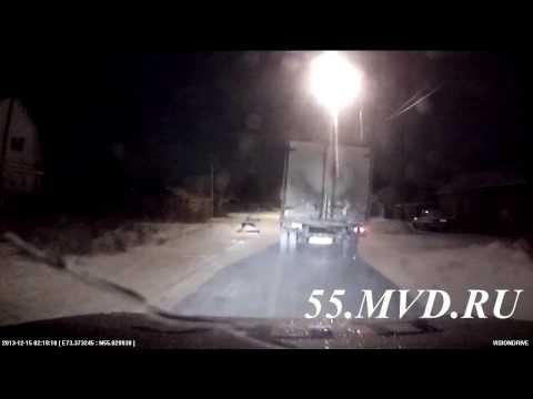 Погоня за грузовой «ГАЗелью»
