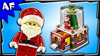 Lego Christmas SNOW GLOBE Holiday Limited Edition 40223 Speed Build