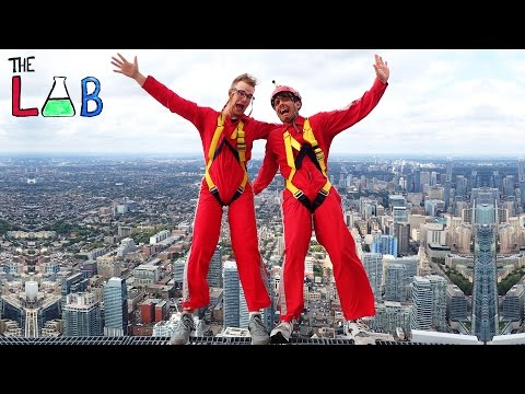 What If You Fell From 356 Meters? - THE LAB