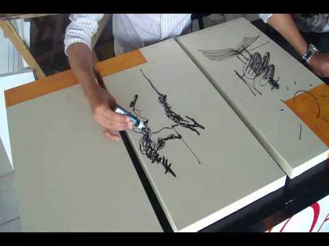 Javoarte galeria de arte moderno youtube - Como pintar un cuadro moderno ...