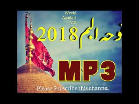 New Noha 2018 Teri Ummat ne sataya hai 2017-18 (1439) hijri