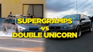 Supergramps vs Double Unicorn - Drag Race