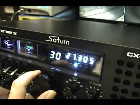Connex CX-33 SSB Saturn Tune-up Report